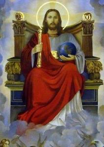 Gesù in trono