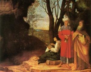 mito caverna - Giorgione