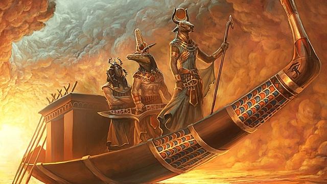 barca solare di Ra